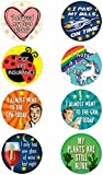 16 Adult Achievement Stickers (Adulting) - Perfect Funny Gift For White Elephant Gifts, Hostess Gifts, Christmas Presents, or Gag Gifts