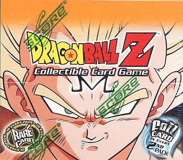 Dragon Spielen Z Ball Karten (Dragonball Z Score Trading Card Game Babidi Saga Booster Pack [12 Karten])