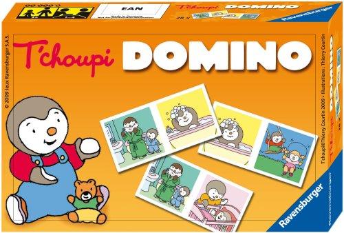 Ravensburger- Domino- T'choupi- Jeu Educatif- A partir de 3 ans- 24311
