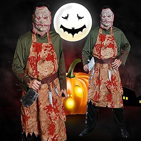 Halloween Kleidung Ghost Festival Party verrückt blutig blutig erwachsenen männlichen Kostüm Festival / Halloween / Weihnachten