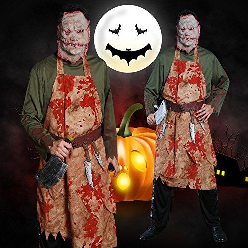 Halloween Kleidung Ghost Festival Party verrückt blutig blutig erwachsenen männlichen Kostüm Festival / Halloween / Weihnachten (Verrückte Krankenschwester Kostüm)