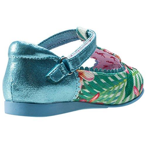 Irregular Choice Flamingo, Mary janes fille blue