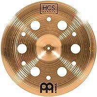 """Meinl Cymbals 18"""" Trash China con agujeros - HCS acabado tradicional bronce para tambor, fabricado en Alemania, 2 años de garantía (HCSB18TRCH)"""