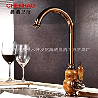 XXW Rubinetti Cucina Giada cucina bacino rubinetto cucina rubinetto lavabo rubinetto valvola sedile diametro: 3,5 cm