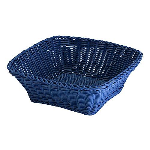 Saleen 02096378101 Korb quadratisch Circa 19 x 19 x 7,5 cm, Marine blau