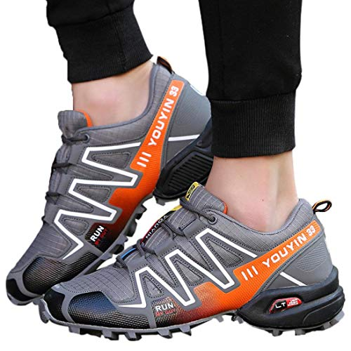 Wanderschuhe Herren Sportschuhe Laufschuhe Bequem Atmungsaktives Turnschuhe Sneakers Gym Fitness Leichte Schuhe Turnschuhe sportlich Outdoor Sports Wandern Turnschuhe,ABsoar
