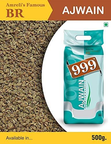 BR 999 Premium Quality Ajwain (Carom Seed) - 500 GM