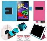 Hülle für Lenovo Tab 2 A8-50 Tasche Cover Case Bumper | in Pink | Testsieger