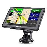 AWESAFE GPS Navi Navigation 7 Zoll Touchscreen für Auto PKW LKW Europa Traffic,...