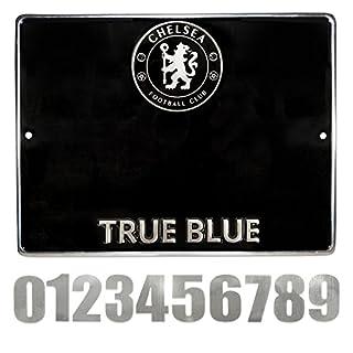 Chelsea Hausnummer Schild–Mehrfarbig