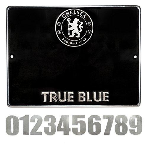 Chelsea Hausnummer Schild-Mehrfarbig
