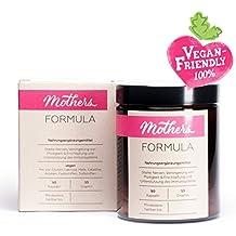 Mothers Formula - Für Deine Gesundheit & Energie - 90 Vegane Kapseln - Vitamine + Mineralien für Frauen & Mamas - mit Folsäure, Eisen & Vitamin B12