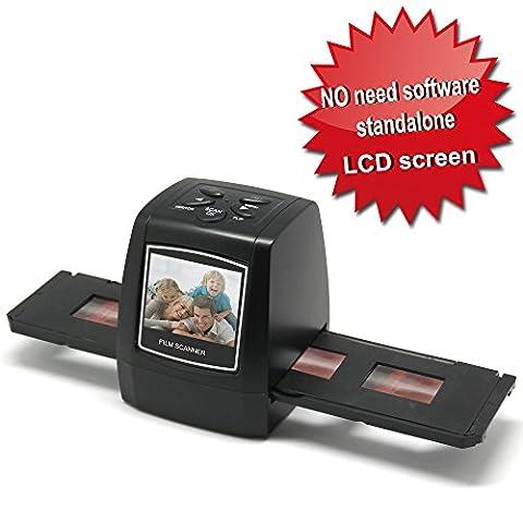 DigitNow!Tragbares Hohe Auflösung 35mm Film & Slide Scanner. Farb-LCD-Bildschirm Verwenden Sie Ihre alten Kodak, Fuji, Agfa, Konica, Ilford Farbe Negativ, Schwarz und Weiß und Farbe Slide Films!
