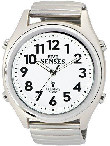 Atomic! - Reloj parlante, diseño de Cinco sentidos, Unisex SENS-RCTK-P201-12 M104