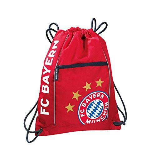 Preisvergleich Produktbild FC Bayern 18830 FC Bayern München Sportbeutel rot