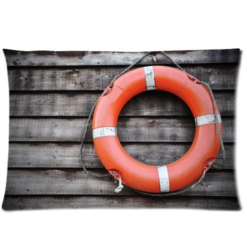 red-and-white-life-saver-one-side-custom-pillowcasepillowcover-20-x-30-inch