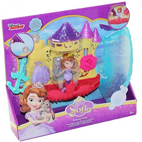 Mattel CKC90 Disney Princess Sofia Floating Palace Wasserschloss Badewannen Spielzeug