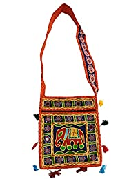 Ratnatraya Ethnic Women's Traditional Jaipur Colorful Designer Handicrafts Hand Bags For Mother, College Girls... - B0773KYJTL