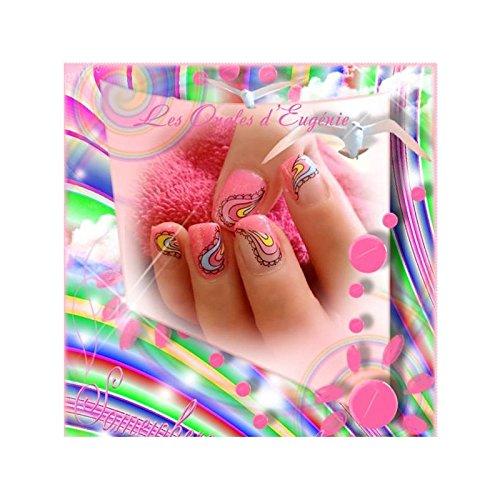 ble - Water decal - gouttes en couleurs - ble_1124