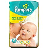 Couches Pampers New Baby Taille 2 Pack Essential 56 par paquet