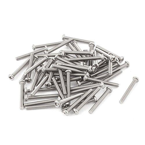 sourcingmapr-m3-x-25-mm-304-acciaio-inox-phillips-testa-di-pan-viti-bullone-60pz