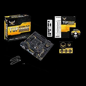 Asus Tuf B350m-plus Gaming Mainboard Sockel Am4 (Micro-atx, Amd B350, 4x Ddr4-speicher Mit 3200 Mhz, M.2, Usb3.1 Gen2, Tuf-armor) 4