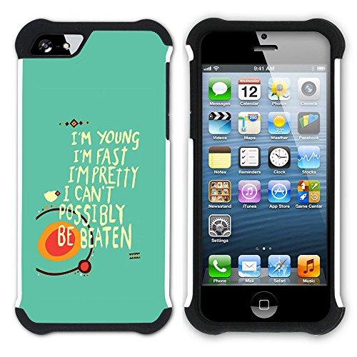 Graphic4You Like A Boss Design Hart + Weiche Kratzfeste Hülle Case Schale Tasche Schutzhülle für Apple iPhone SE / 5 / 5S Design #10