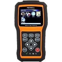 Foxwell NT630 Pro Engine ABS Airbag, SAS, SRS Reset Scan Tool Anti Lock Brake System OBD2 Scanner Turn off ABS/Airbag Warning Indicator