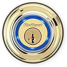 Kwikset Kevo (2nd Gen) Touch-to-Open Bluetooth Smart Lock in Polished Brass by Kwikset - Kevo