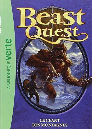 Beast Quest, Tome 3 : Le g??ant des montagnes by Adam Blade (14-Mar-2008) Mass Market Paperback