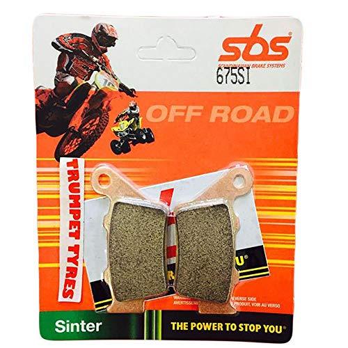 CCM 644 DS Dual Sport 03 04 05 06 SBS Performance Hinten Offroad Sinter Sintered Bremsbeläge Satz Original OE Qualität 675SI -