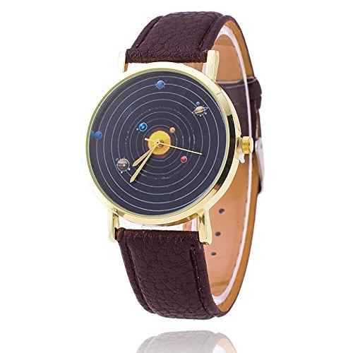 unisex-armbanduhr-planeten-quarz-keine-ziffern-lederband-schwarz-braun