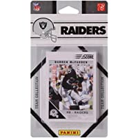 Panini Oakland Raiders 2011 Team Collection Trading Card Set by SCORE