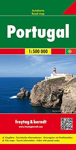 Portugal, mapa de carreteras. Escala 1:500.000. Freytag & Berndt.: Road Map (Auto karte)