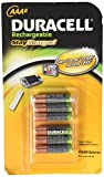 Duracell Rechargeable AAA StayCharged 800mAH Batteries - 6-Pack
