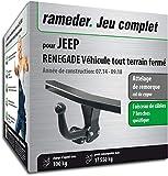 Rameder Attelage démontable avec Outil pour Jeep Renegade Véhicule Tout Terrain...