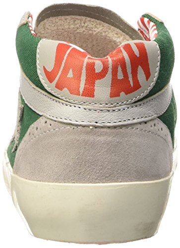 ISHIKAWA Japan 059, Pompes à Plateforme Plate Mixte Adulte Gris (Naplin V3642/Velour Neutro)
