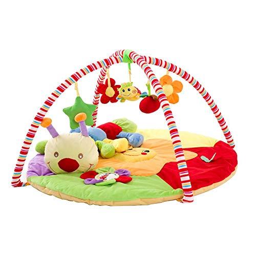 Spieldecke Baby-Babyspielmatten Babygymnastik Mit Schön Tier&Blume&SternMusik,Babyspielmatt
