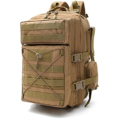 Sport all'aria aperta camuffamento zaino esercito fan arrampicata escursionismo borse zaino 28 * 48 * 29cm , 5