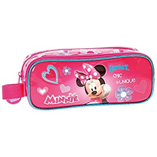 Disney Minnie Fabulous Neceser de Viaje, 23 cm, 1.45 Litros, Rosa