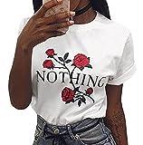 SHELERS Girl Power T-Shirt Feminismus Hemd 100% Baumwolle Kurzarm Unisex Slogan Spruch Damen T-Shirt Tops Bluse (S, Weiß01)
