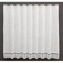 cortina de media altura punta superior agujero de debajo de punta altura cm la