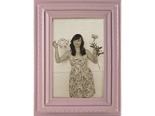 Creative Tops Katie Alice Collection, klein, rechteckig, Shabby Chic Bilderrahmen, mit Ständer, Pink