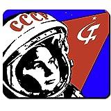 Sovjet Sowjet Space Propaganda Astronaut Cold War Kalter Krieg DDR - Mauspad Mousepad Computer Laptop PC #7252