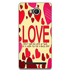 Lenovo A7700 Back Cover, Designer Printed Back Case, Back Cover For Lenovo A7700 by Youberry