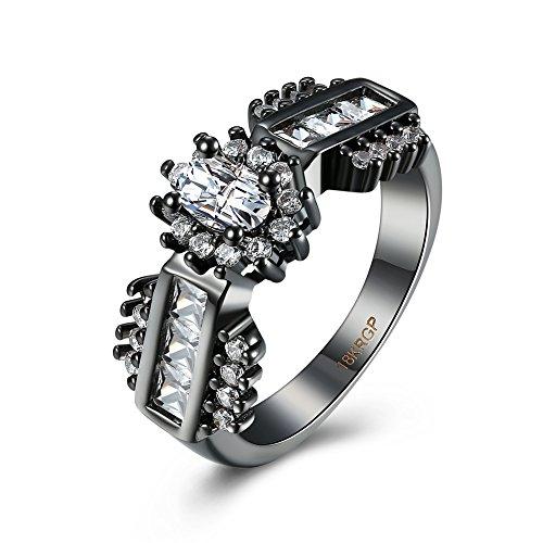 Sona Kissen (Luminous Mode Populärer Ring ,lila,9)