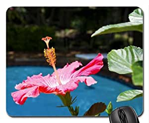 collier fleur hibiscus exotique de piscine tapis de souris mouse pad tapis de souris motif. Black Bedroom Furniture Sets. Home Design Ideas