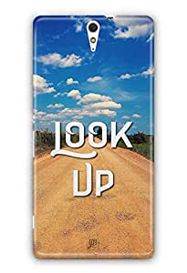 YuBingo Look Up Designer Mobile Case Back Cover for Sony Xperia C5 Ultra
