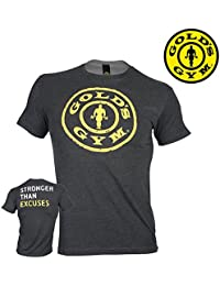 Golds Gym T-Shirt Stronger Than Excuses