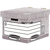 Bankers Box System Standard-Archivbox 10 Stück grau